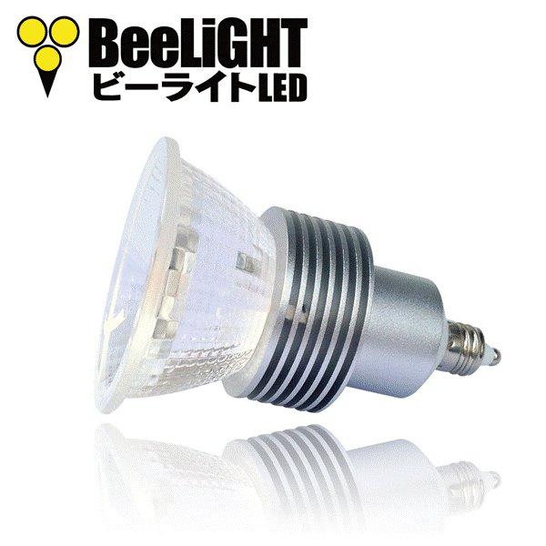 画像2: LED電球 5W 口金E11 非調光 高演色Ra95 ハロゲンランプ40W-50W相当 電球色3000K 中角 JDRφ50タイプ + LCX100E111(旧:Y07LCX100X02)器具セット 2年保証