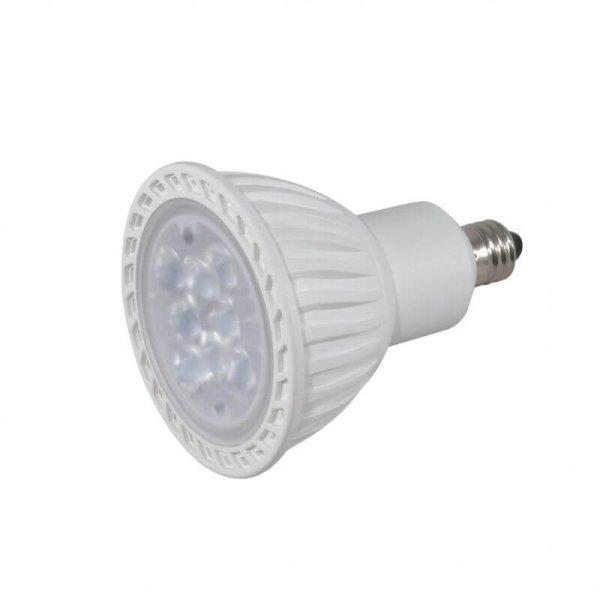 画像4: LED電球 7W 口金E11 非調光 ハロゲンランプ60W相当 昼白色5000K 中角 JDRφ50タイプ + LCX100E111WH(旧:Y07LCX100X02WH)器具セット 2年保証