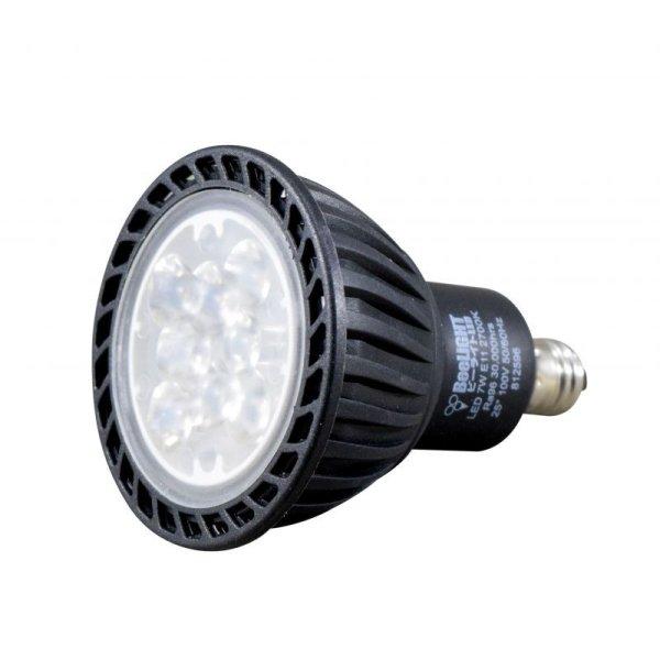 画像4: LED電球 7W 口金E11 非調光 Blackモデル ハロゲンランプ60W相当 昼白色5,000K 中角 JDRφ50タイプ 2年保証