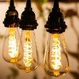画像6: 【新商品】LED電球 口金E26 エジソン電球 スパイラル 4W 白熱電球20W-30W相当 濃い電球色2100K クリアタイプ 1年保証