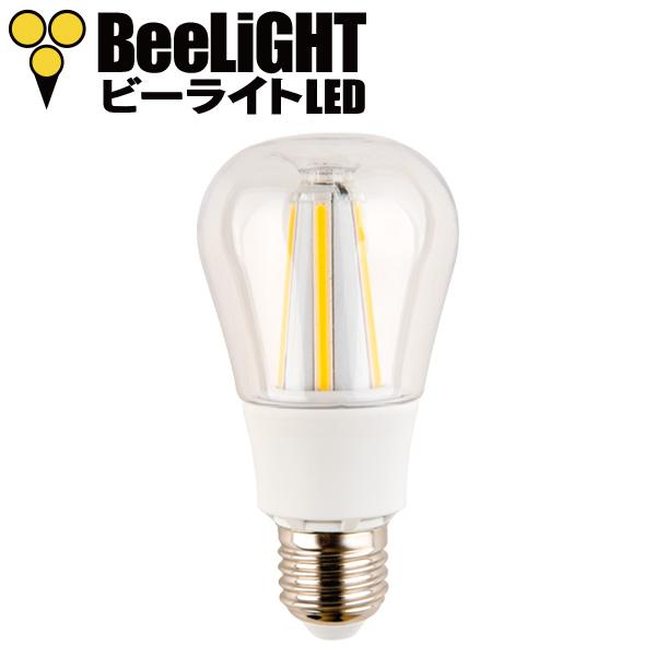 BeeLIGHTのLED電球「BD-1026C-Clear-2200」の商品画像。