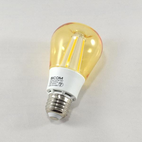 BeeLIGHTのLED電球「BD-1026C-Clear-Retro」の商品画像。