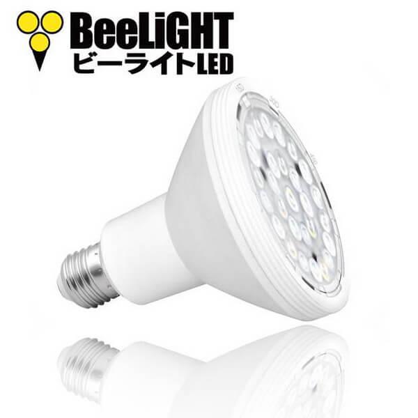 BeeLIGHTのLED電球「BH-1226RC-BK-WW-15-60」の商品画像。
